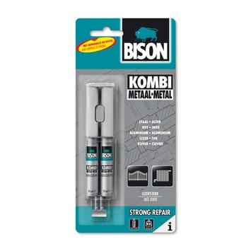 Bison 2-componentenlijm kombi metaal 24 ml