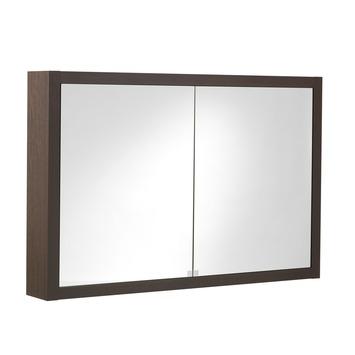 GAMMA | Tiger Boston spiegelkast wengé wit 105x70 cm kopen ...