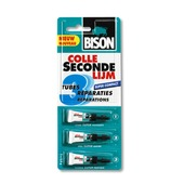 Bison secondelijm super compact 2,4 gram