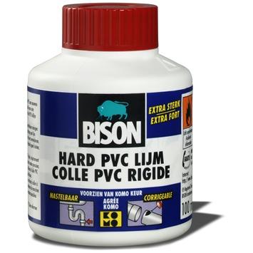 Bison hard PVC lijm potje 100 ml
