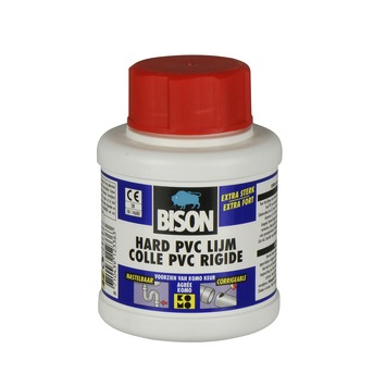 Bison hard pvc lijm pot 250 ml