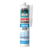 Bison siliconenkit sanitair superwit 310 ml
