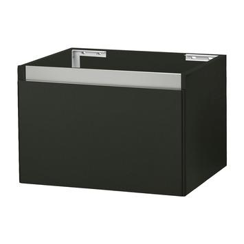 stripe onderkast hoogglans zwart 60 cm | badkamermeubelen, Badkamer