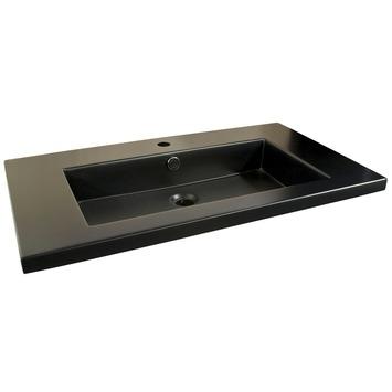 GAMMA | GAMMA Brighton wastafel mat zwart 80 cm kopen? | Wastafels