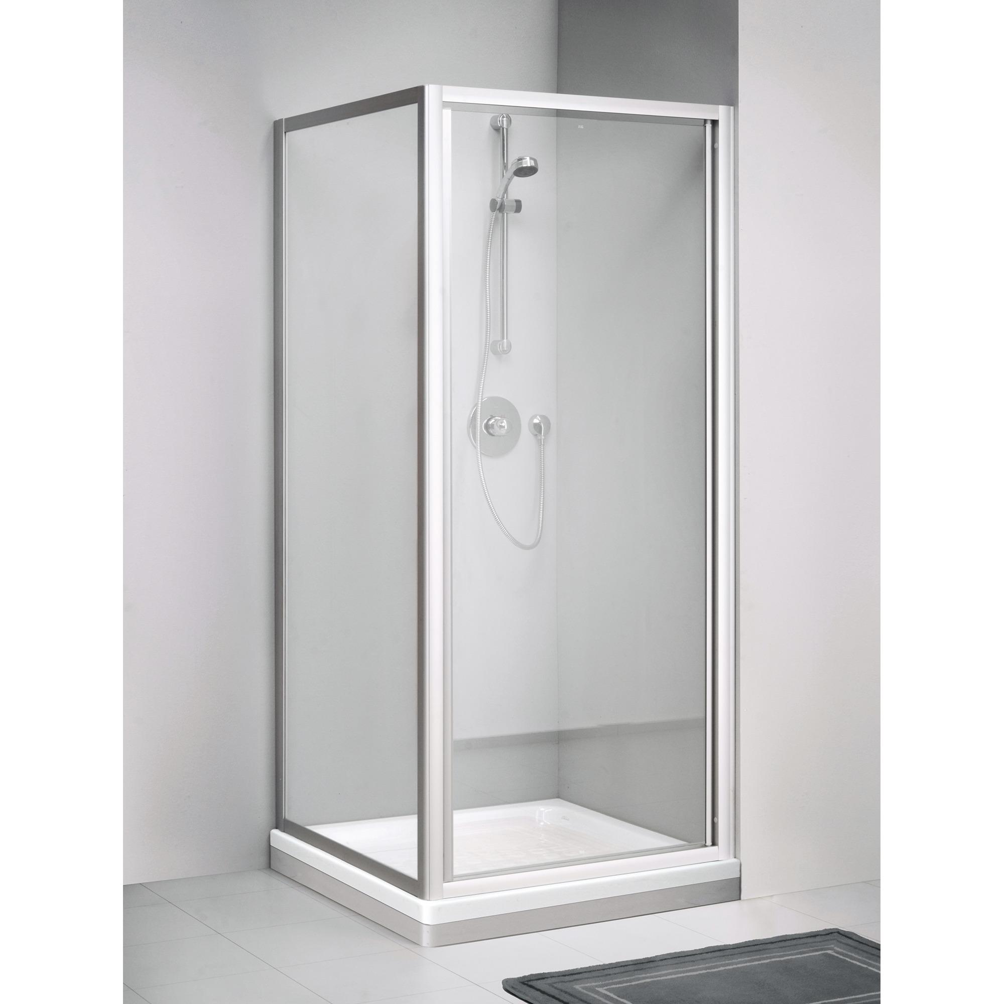 Sealskin Get Wet C110 zijwand 90x190cm wit profiel en helder glas