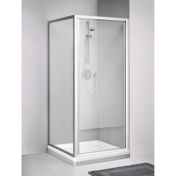 Get Wet Zijwand C110 Mat Zilver 190x80 cm