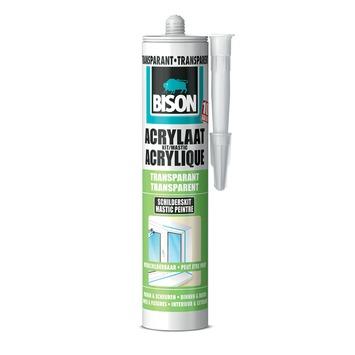 Bison acrylaatkit transparant 300 ml