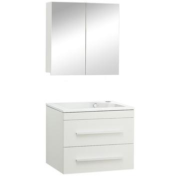 gamma style badmeubelset rechts mat wit 60 cm | badkamermeubelen, Badkamer