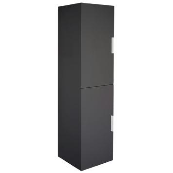 GAMMA   Shout kolomkast zwart 140x35x30 kopen?   Badkamermeubelen