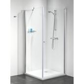 Get Wet by Sealskin C105 swingdeur+zijwand chroom 195x90 cm