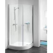 Get Wet by Sealskin C105 douchecabine kwartrond chroom 195x90 cm