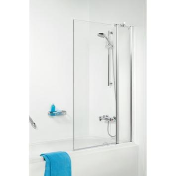 Get Wet Badklapwand S105 2-delig 140x100cm Chroom