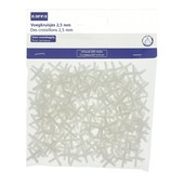 GAMMA voegkruisjes 2,5 mm wit 200 stuks