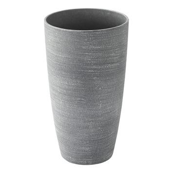 Vaas ceramix rond  Grijs Ø22 h38 cm
