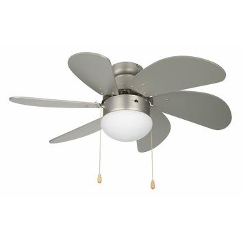 Handson plafondventilator Verona 75 cm met 6 bladen en verlichting