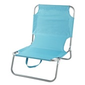 Strandstoel blauw