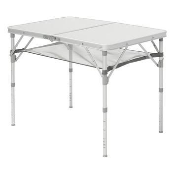 Aluminium Camping Tafeltje.Klaptafel Aluminium 70x90x40 Cm