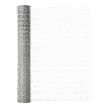 Handson Kippengaas maaswijdte 25 mm 100 cm hoog rol 25 meter verzinkt