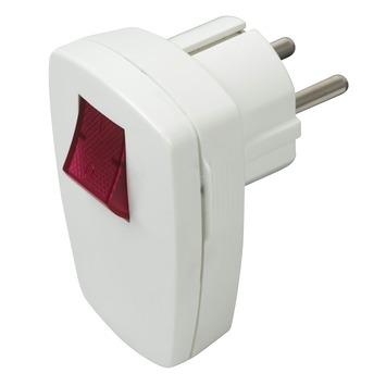 GAMMA | GAMMA stekker met schakelaar met verlichting wit kopen ...