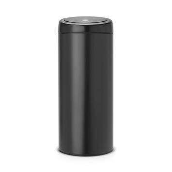 Brabantia Touch Bin afvalemmer 30 liter, mat zwart