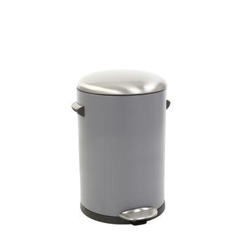 EKO Belle Deluxe pedaalemmer grijs 12 liter