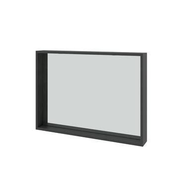 Spiegel Zwarte Lijst.Bruynzeel Spiegel Met Verlichting Hacienda Zwart 90 Cm