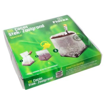 Cocos Stek- en Zaaigrond 10 Liter