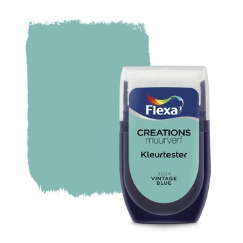 Flexa Creations kleurtester vintage blue