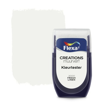 Flexa Creations muurverf Kleurtester Fresh Linen mat 30ml