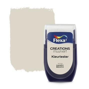 Flexa Creations muurverf Kleurtester Sandy Beach mat 30ml