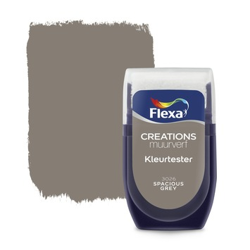 Flexa Creations kleurtester spacious grey