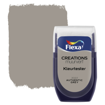 Flexa Creations muurverf Kleurtester Authentic mat 30ml
