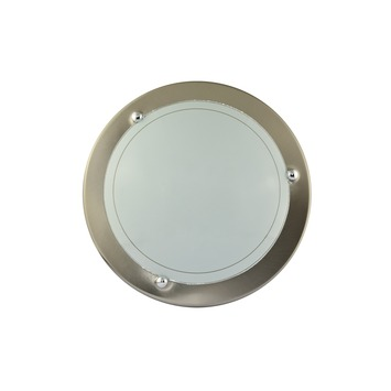 GAMMA plafondlamp Tampa 8 watt LED chroom