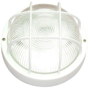 Handson wandlamp bulleye kunststof rond wit