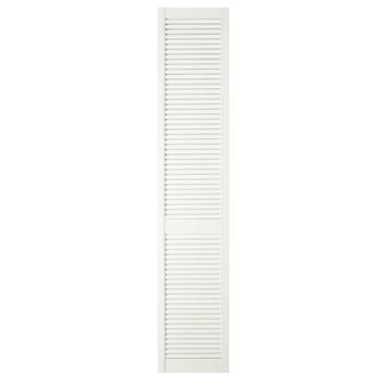 CanDo deur louvre open wit 201,3x39,4 cm