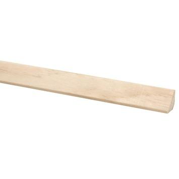 Glaslat grenen 20x20 mm 270 cm