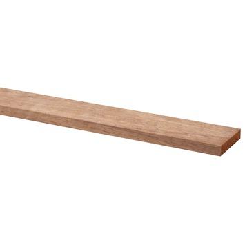 Lat geschaafd hardhout 9x44 mm 270 cm