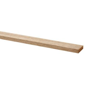 Lat geschaafd hardhout 9x27 mm 270 cm