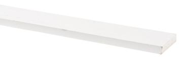Lat geschaafd grenen wit gegrond 9,5x45 mm 270 cm