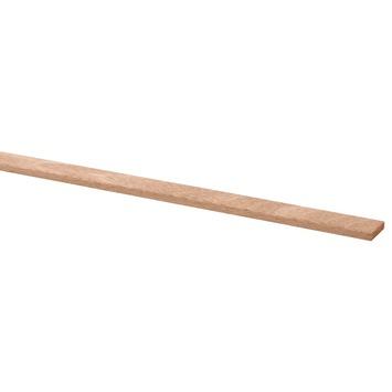 Lat geschaafd hardhout 4x18 mm 270 cm