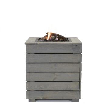Livin' Flame terrashaard Blaze 60x60x65 cm grijs