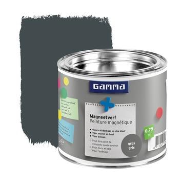 GAMMA magneetverf donkergrijs 500 ml