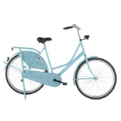 Pelikaan omafiets 28 inch turquoise