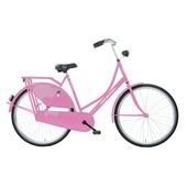 Pelikaan omafiets 28 inch roze