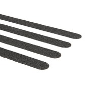 SecuCare antislipsticker 19x600 mm zwart 15 stuks