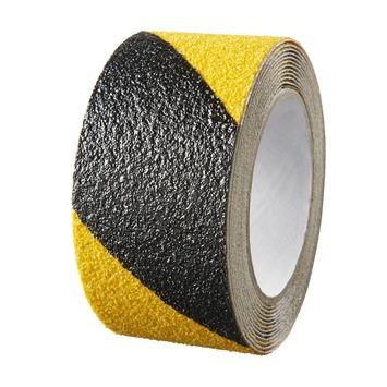 SecuCare antislipsticker op rol 50x3000 mm zwart/geel