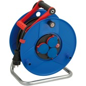 Brennenstuhl Garant IP44 kabelhaspel blauw/zwart 50 meter