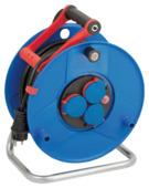 Brennenstuhl Garant IP44 kabelhaspel blauw/zwart 25 meter