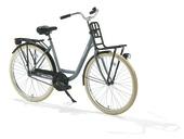 Robuust Stavast fiets grijs 28 inch