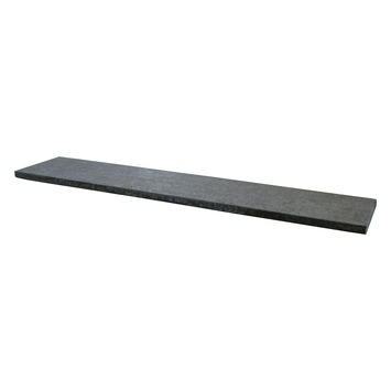 Muurdeksteen Bluestone Gevlamd Antraciet 100x20x2 cm